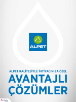 ALPET Gold Card İskontolu Sistem İle