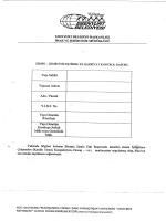 Zemin İyileştirme Ve Hafriyat Kontrol Raporu Örneği