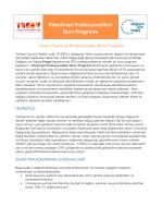 Filantropi Profesyonelleri Burs Programı