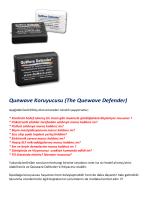 Quewave Koruyucusu (The Quewave Defender)