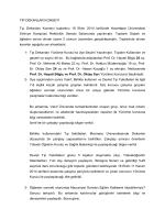 Hacettepe Tıp Dekanlar Konseyi Raporu 18 Ekim 2014