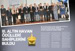 III. AltIn HAvAn Ödülleri sahiplerini buldu