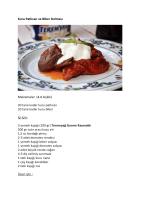 Kuru Patlıcan ve Biber Dolması Malzemeler (4
