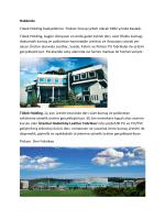 Hakkında Tükek Holding faaliyetlerine Flokser Group