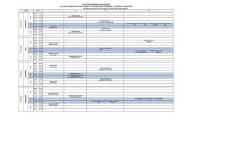 (Ertelenen Sınavlar için Program Yeniden Güncellenmiştir