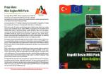 Proje Alanı: Küre Dağları Milli Parkı