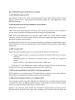 Sporcu Biyolojik Pasaportu ile ilgili Sorular ve Cevaplar