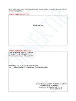 ASP Temizlik Ltd.Şti. Teklif Zarfı