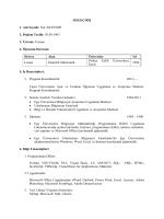 CV - Açık ve Uzaktan Öğrenme Uygulama ve Araştırma Merkezi
