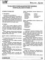 İlaçların Farmakokinetiği Üzerine Hastalıkların Etkisi 1