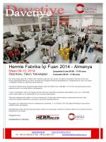 DAVETİYE FAKSI pdf versiyonu 2014 r0