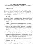 Adana Bilim ve Teknoloji Üniversitesi Diploma Yönergesi