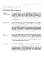 Kardiyoloji yayınlarında gündem ve yorumlar