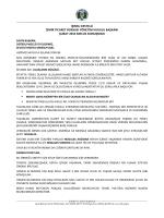 ışınsu - İzmir Ticaret Borsası