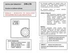SYN-176 Oda Termostatı Kullanma Kılavuzu
