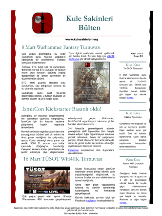 7 Mart 2014 - Sayı 35