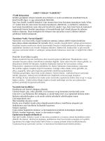 NARSİZM - Sosyal Hizmet Uzmanı