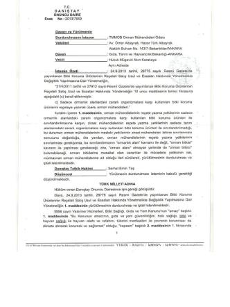 Danıştay 10. Dairesinin 29.4.2014 tarihli, E:2013/7659 sayılı kararı