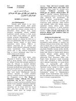 31.10.2014 KERBELA VAKASI Aziz Müslümanlar!