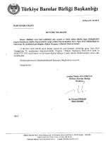 Eki:1 - Türkiye Barolar Birliği