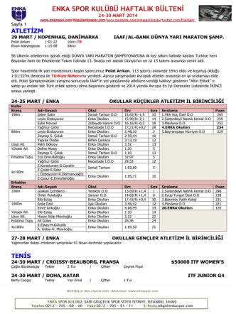 31 mart-06 nisan 2014