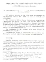 1)BORÇBAKAN, C., GERÇEKER, M.., GÜVEN, O.A clinical study on