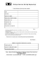 CCBE KİMLİK KARTI BAŞVURU FORMU 1
