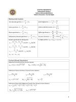 Makine Elemanları I Formül Kağıdı_2014