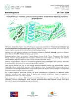 Basın Duyurusu 27 Ekim 2014