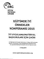( ERG - Milli Eğitim Bakanlığı