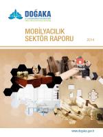 mobilyacılık sektör raporu