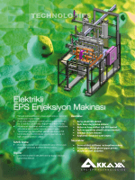 Elektrikli EPS Enjeksiyon Makinası