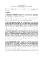 Teknik Şartname - Marmarabirlik