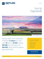 Yurt İçi Taşıma - Netlog Lojistik Grubu