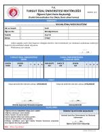 Farklı Üniversiteden Yaz Okulu Alma Formu - Öğrenci İşleri