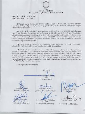 2014 - 2 - Çevre ve Şehircilik Bakanlığı