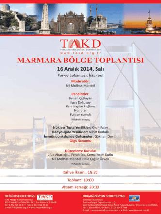 16 Aralik TAKD - Türk Akciğer Kanseri Derneği