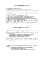 2001-02 çalışma programı