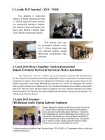 Faaliyet Programı 2. Sayfa