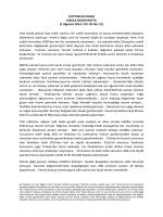 Cotton Outlook - İzmir Ticaret Borsası