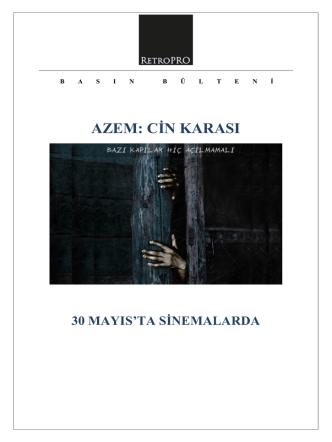 AZEM: CİN KARASI - Chantier Films