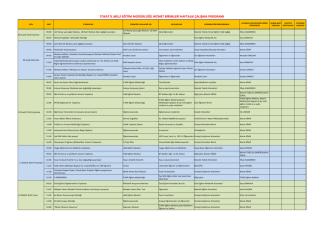 08-12 Aralık 2014 - Tokat Milli Eğitim Müdürlüğü