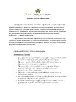 AKADEMİK DÜRÜSTLÜK POLİTİKASI Çakır Eğitim Kurumlarında IB