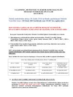 Orta Düzey Yetkili (ODY) / Üst Düzey Yetkili