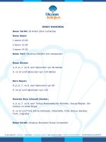 SINAV HAKKINDA Sınav Tarihi: 20 Aralık 2014