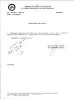 T.c. ÇANKIRI KARATEKİN ÜNİVERSİTESİ - Fen Fakültesi