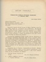 KiTAP rAHLİLİ ` - Ankara Üniversitesi Dergiler Veritabanı