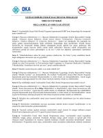 SSS YENERJİ 2014 listesi - Orta Karadeniz Kalkınma Ajansı
