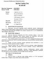 Anayasa Mahkemesinin 18/9/2014 Tarihli ve 2013