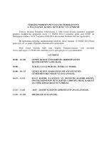 Mali Genel Kurul Duyurusu ve Gündem